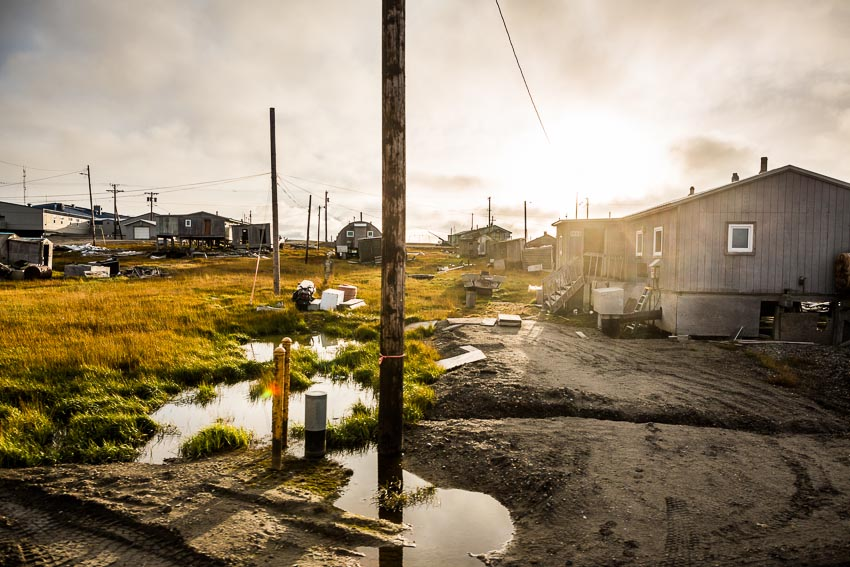 The village of Kaktovik, on Alaska's North Slope, is the only permanent settlement in the Arctic National Wildlife Refuge's special 1002 area, where there is great oil and gas potential.